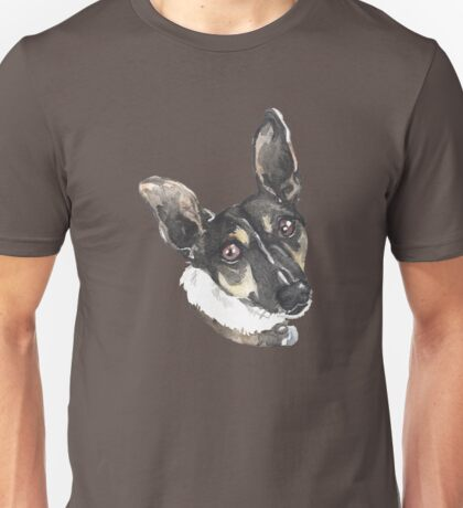 Portrait of Monty Unisex T-Shirt
