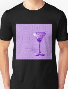 Purple cocktail on texture Unisex T-Shirt