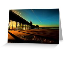 Shadows Of The Pier II Greeting Card