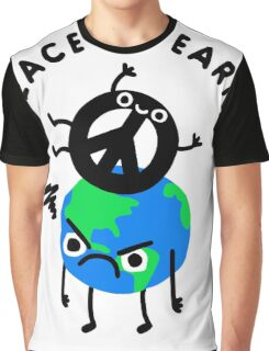 Peace On Earth Graphic T-Shirt