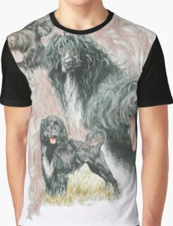 Portuguese Water Dog /Ghost Graphic T-Shirt