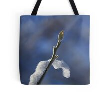 Frosted Tree Bud Tote Bag