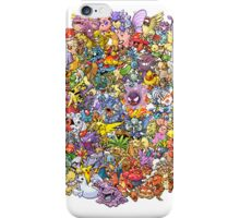 Pokemons iPhone Case/Skin