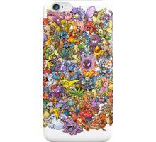 Pokemons iPhone Case/Skin