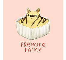 Frenchie Fancy Photographic Print