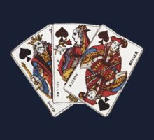King Queen Jack of Clubs by HighDesign