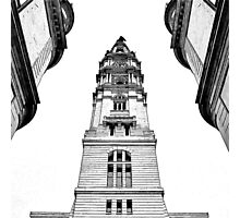 Philadelphia Town Hall. Photographic Print