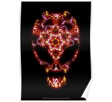 Alien Energy face Poster