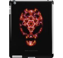 Alien Energy face iPad Case/Skin