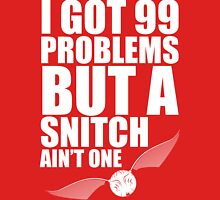 I got 99 problems but a snitch ain't one white Tank Top