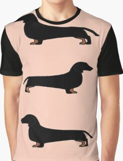 Dog - Dachshund Graphic T-Shirt