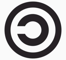 Copyleft Symbol - Support the Free Web! Kids Clothes