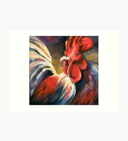 Color Me Poultry Art Print