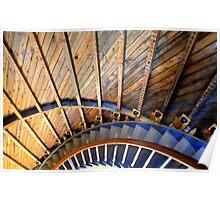 Lighthouse Spiral color Poster