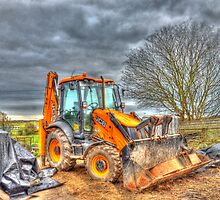 Resting Digger by Simon Evans