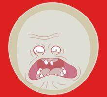 Screaming Sun - Rick and Morty Baby Tee