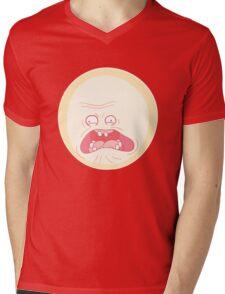 Screaming Sun - Rick and Morty Mens V-Neck T-Shirt