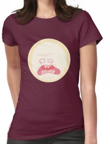 Screaming Sun - Rick and Morty Womens Fitted T-Shirt
