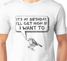 High as a Bird Unisex T-Shirt