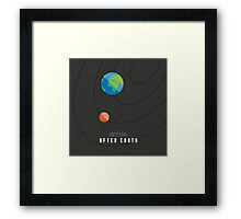 After Earth Framed Print