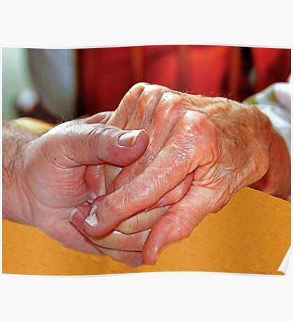Praying Hands: A Strength that lasts a lifetime Poster