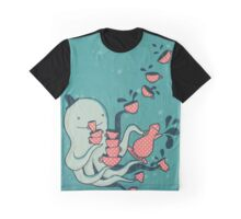Tea and Tentacles Graphic T-Shirt