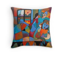 NUDES Throw Pillow