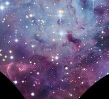 Alien nebula for light Sticker