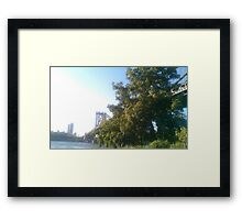 A Humid Day Framed Print