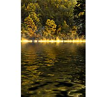 Morning In Gold Photographic Print