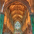 Edinburgh Cathedral on the Royal Mile by Paul Duckett