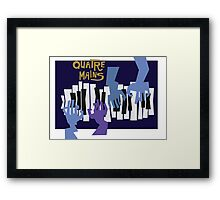 Quatre Mains Framed Print