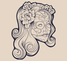 Calavera Woman XII by viSion Design