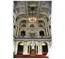 The Queen's Hall at Parliament House Poster