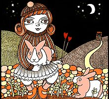 Bettys Bunnies by Anita Inverarity