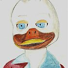 A portrait of Howard the Duck by StuartBoyd