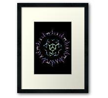 Sacred GeoFlower Framed Print