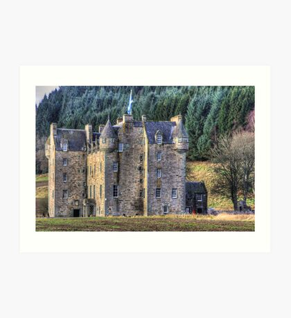 Castle Menzies Art Print