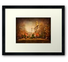 New York in Watercolour Framed Print