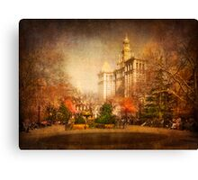 New York in Watercolour Canvas Print