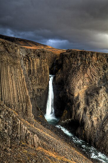 Litlanesfoss by Roddy Atkinson