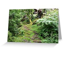 The Rock Garden Greeting Card
