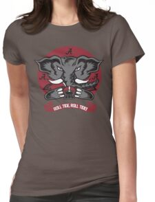 Roll Tide, Roll Tide! Womens Fitted T-Shirt