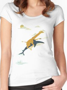 Forward! Women's Fitted Scoop T-Shirt