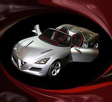¸.•*´♥`*•. PROTO TYPE CAR ALFA ROMEO CAR @ DETROIT CAR SHOW ¸.•*´♥`*•. by ╰⊰✿ℒᵒᶹᵉ Bonita✿⊱╮ Lalonde✿⊱╮