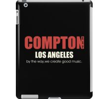 Compton Los angeles Rapper iPad Case/Skin