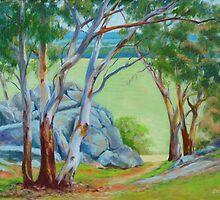 Walla Walla - Highwayman's Lookout by Dai Wynn