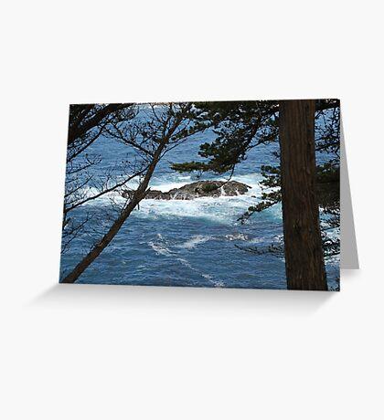 Pacific  Coast  Sea View Greeting Card