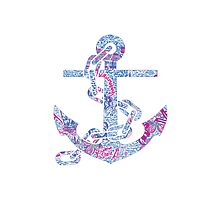 Lilly pulitzer Anchor by Emily Grimaldi