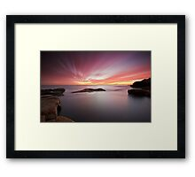 The Passage to Sydney Framed Print